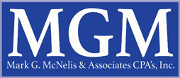 Mark G. McNelis & Associates CPA's, Inc. Sticky Logo